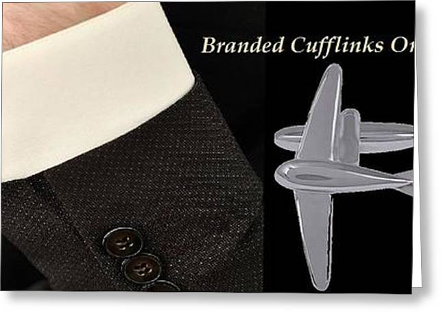 Cufflinks Online At Shaze Greeting Card by Jessica