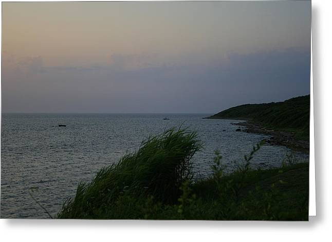 Culloden Point From Montauket Greeting Card