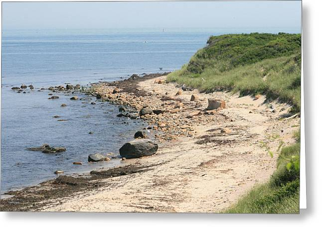 Culloden Point In Montauk Greeting Card