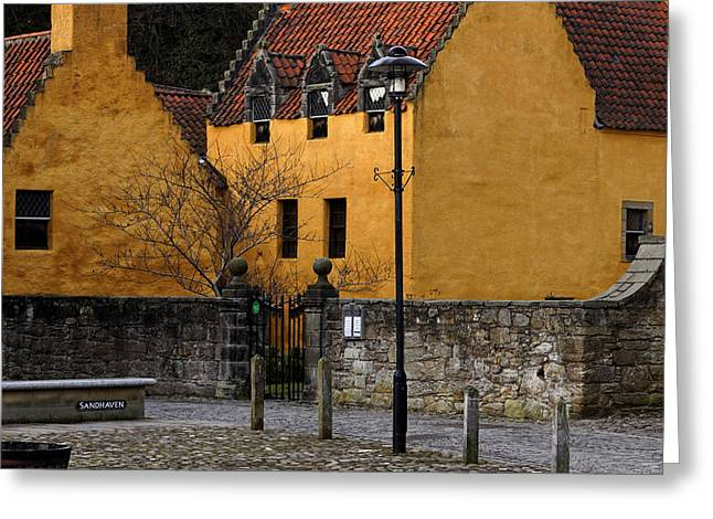 Greeting Card featuring the photograph Culross by Jeremy Lavender Photography