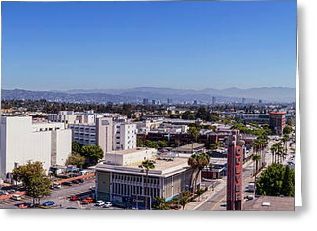 Culver City East Greeting Card by Kelley King