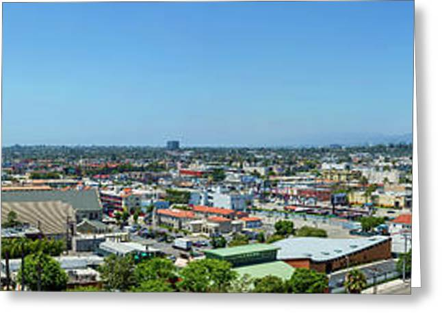 Culver City West View Greeting Card by Kelley King