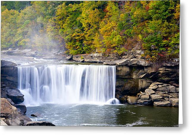Cumberland Falls Greeting Card