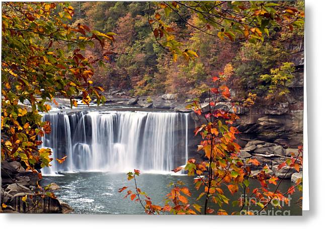 Cumberland Falls Two Greeting Card