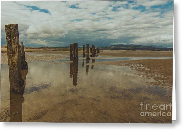 Cunnigar Beach 2 Greeting Card
