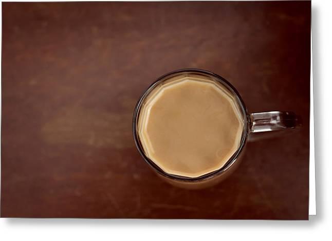 Cup Of Coffee Minimalist Greeting Card