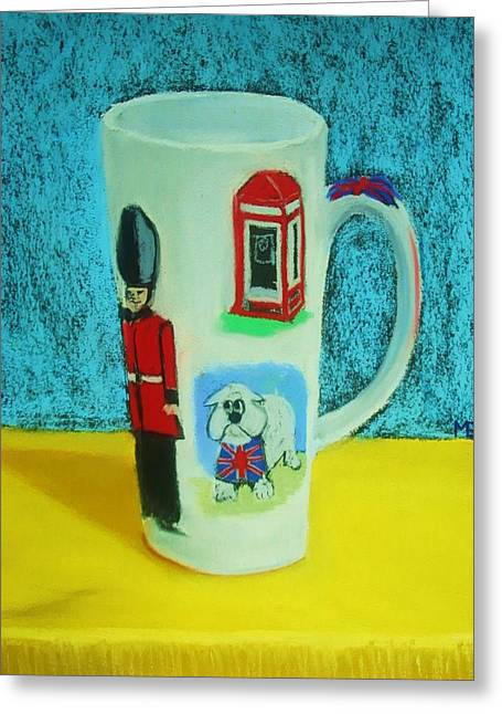 Cup Of London Java Greeting Card