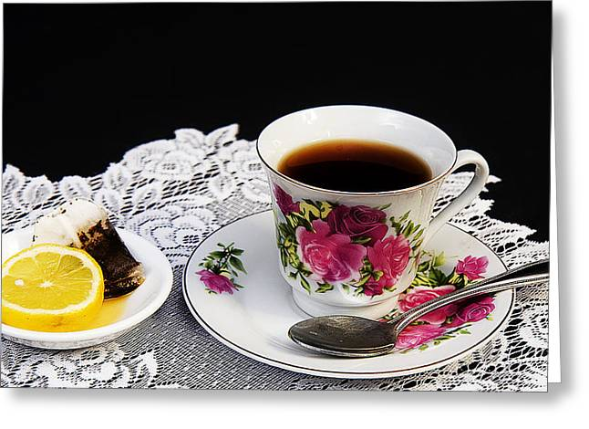 Cup Of Tea Please Greeting Card