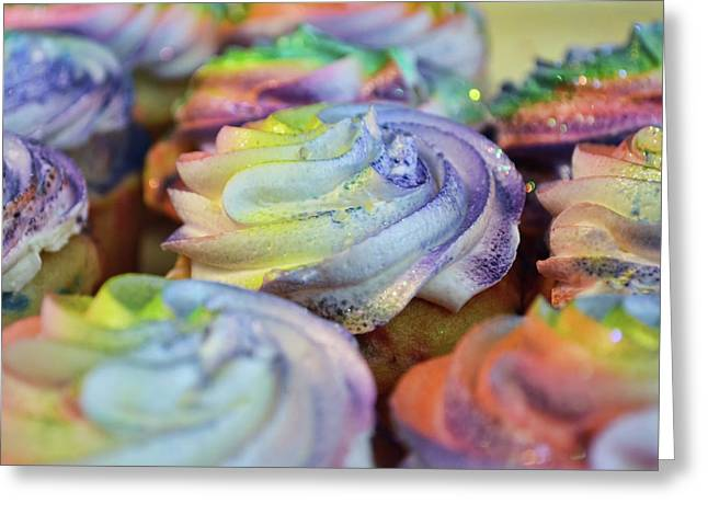Cupcake Chaos Greeting Card by JAMART Photography