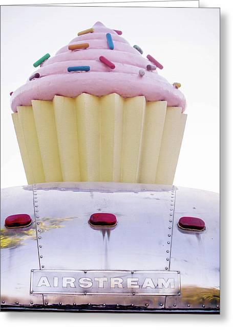 Cupcake Food Trailer Greeting Card