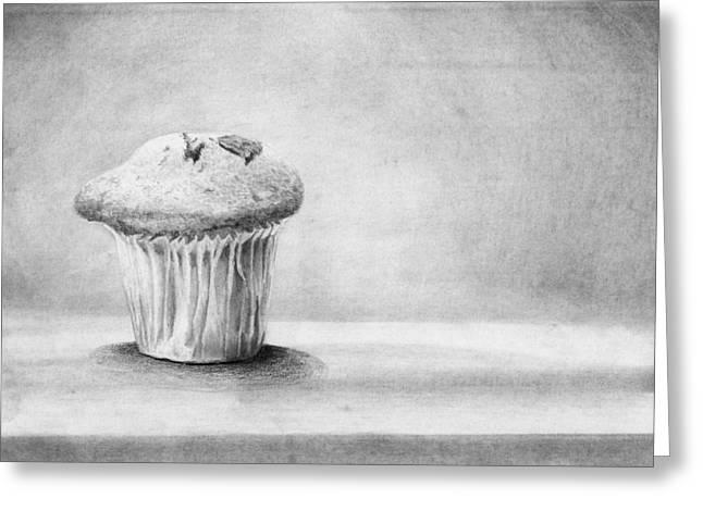 Cupcake Greeting Card by Nolan Clark