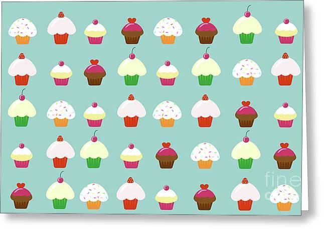 Cupcakes  Greeting Card by Kourai