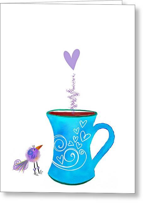 Cuppa Series -cuppa Happy Greeting Card