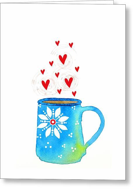 Cuppa Series - Java Love Greeting Card