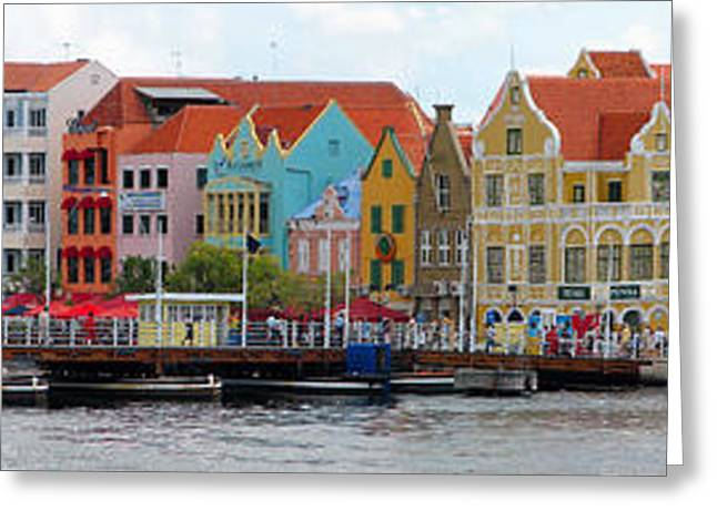 Curacao Willemstad Panorama Greeting Card
