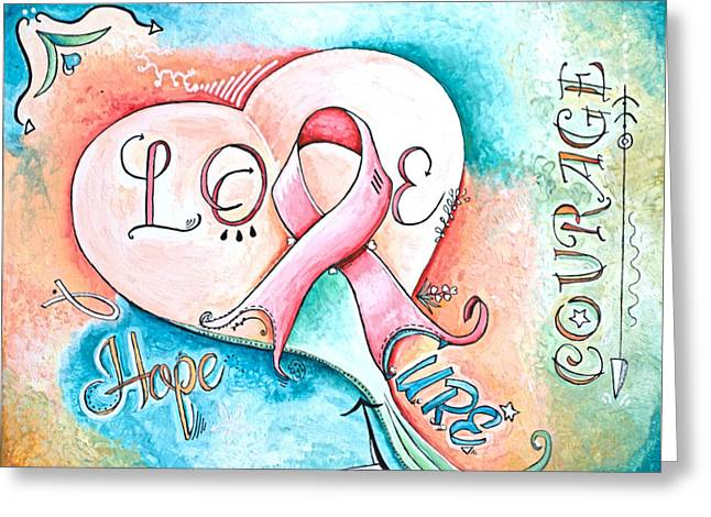 Cure Breast Cancer Greeting Card