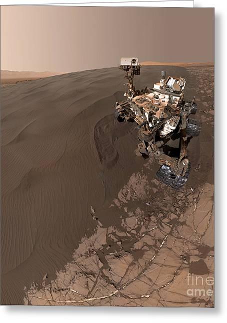 Curiosity Rover Self-portrait Greeting Card