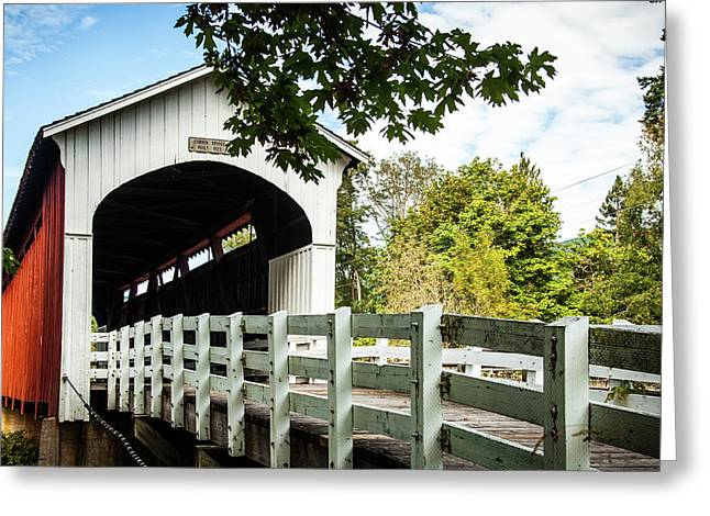 Currin Bridge Greeting Card