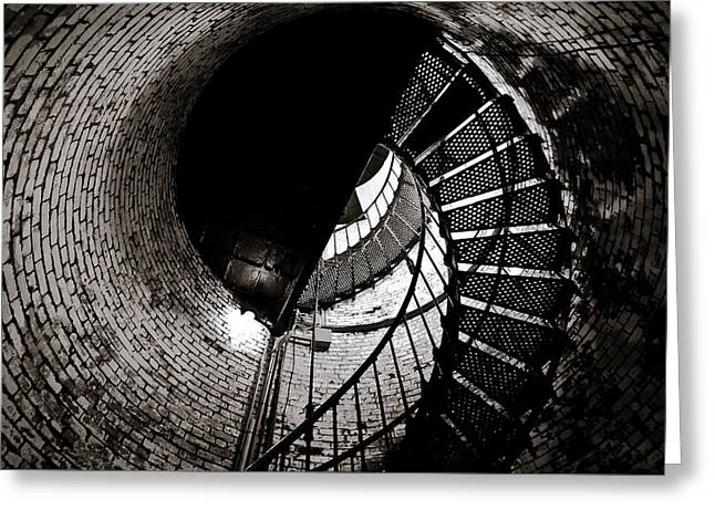 Currituck Spiral II Greeting Card