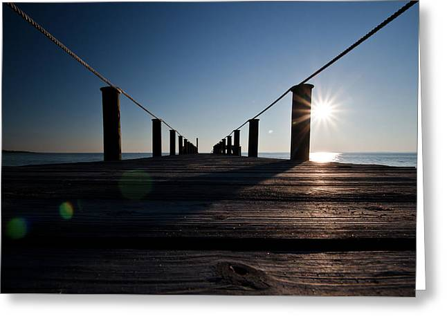 Currituck Sunset Greeting Card