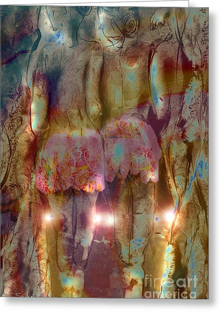 Curtain Call Greeting Card by Gabrielle Schertz