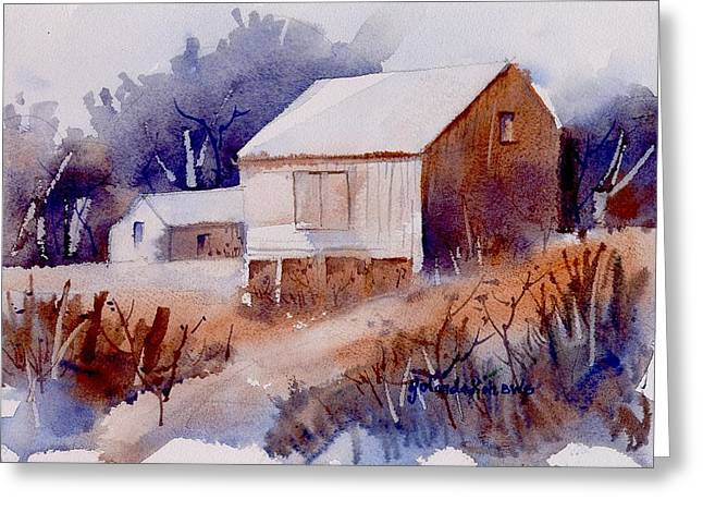 Curtis Farm In Ellicott City Greeting Card by Yolanda Koh