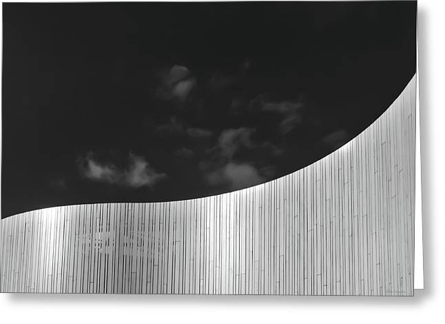 Curve Two Greeting Card