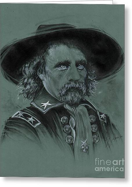 Custer's Resolve Greeting Card