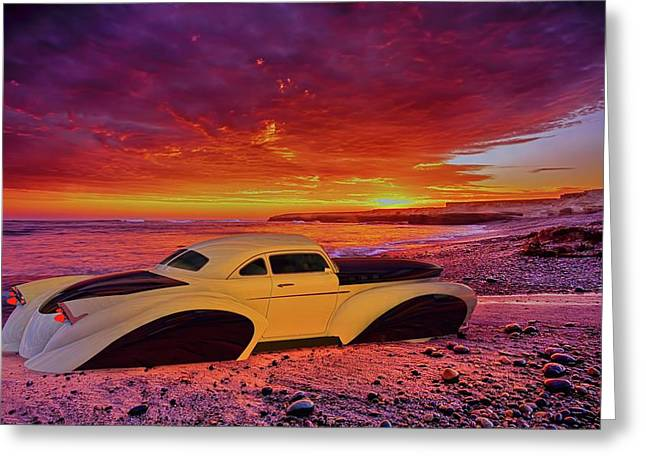 Greeting Card featuring the photograph Custom Lead Sled by Louis Ferreira