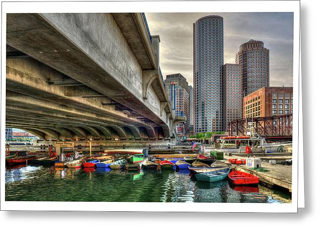 Greeting Card featuring the photograph Custom Order - Boston Rowing Center by Joann Vitali