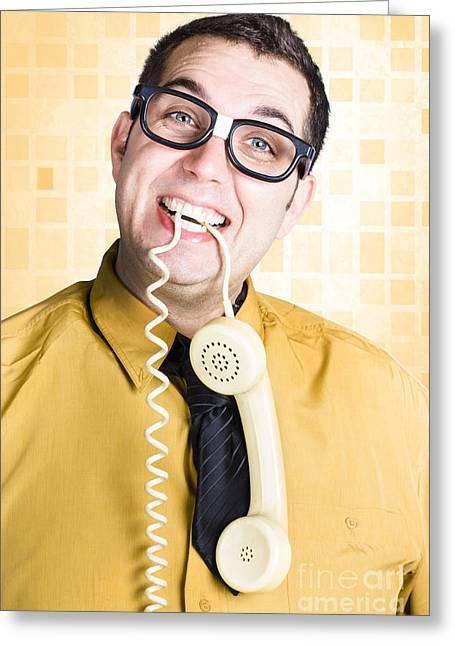 Customer Service Feedback Greeting Card by Jorgo Photography - Wall Art Gallery