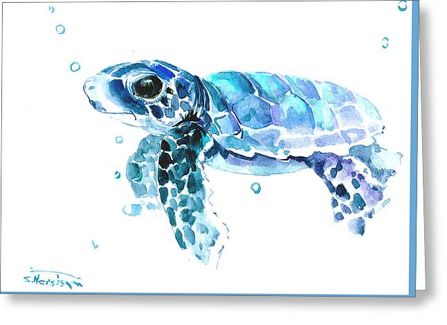 Cute Baby Turtle Greeting Card