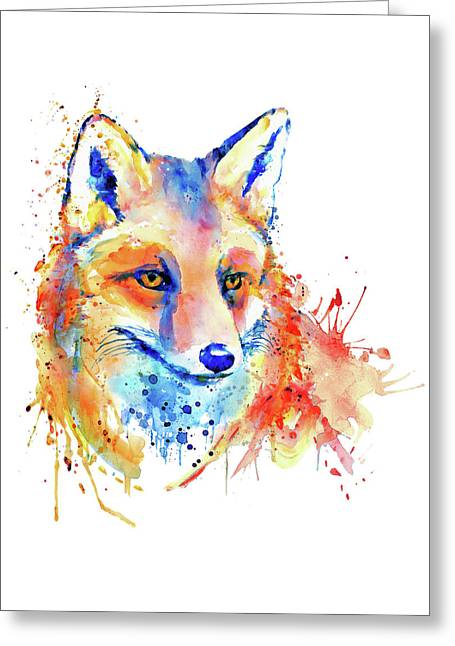 Cute Foxy Lady Greeting Card