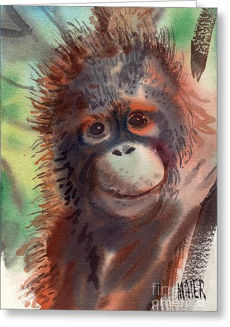 My Precious Greeting Card by Donald Maier