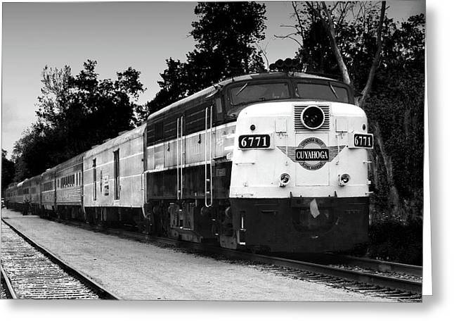Akron Greeting Cards - Cuyahoga Valley Line I Greeting Card by Kenneth Krolikowski