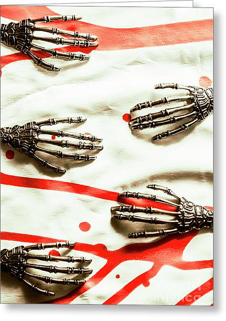 Cyborg Death Squad Greeting Card