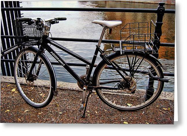 Cycling In Sweden Greeting Card by JAMART Photography