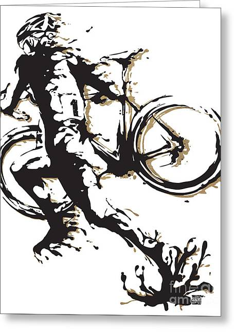 Cyclocross Poster1 Greeting Card