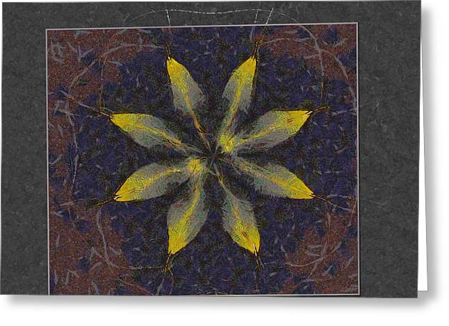 Cyphella In The Altogether Flowers  Id 16163-231118-12291 Greeting Card by S Lurk