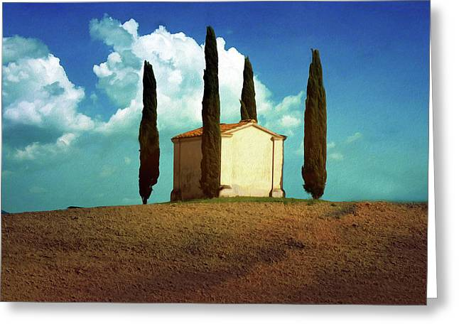 Cypress Hill Square Greeting Card