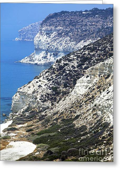 Cyprus View Greeting Card by John Rizzuto