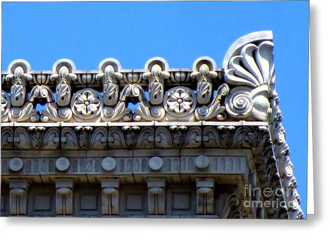 D C Details 3 Greeting Card by Randall Weidner