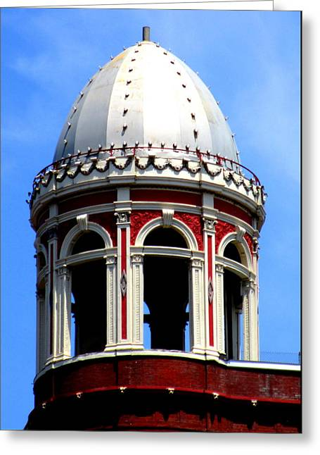 D C Dome Greeting Card by Randall Weidner