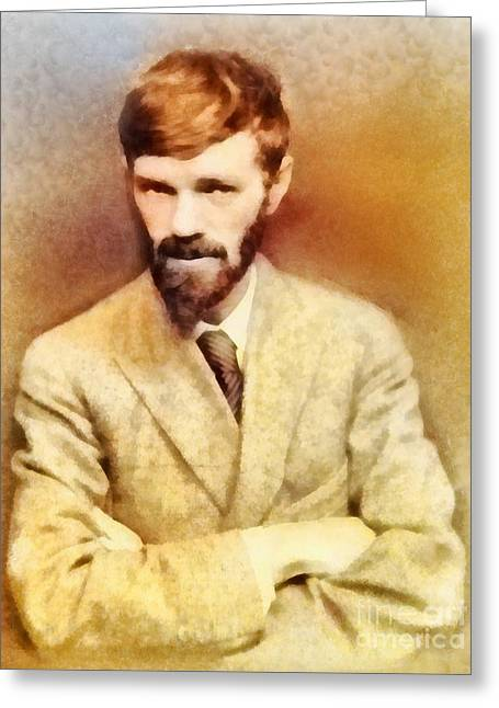 D. H. Lawrence, Literary Legend Greeting Card