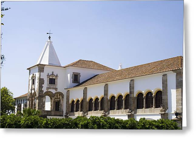 D. Manuel Palace Greeting Card by Andre Goncalves