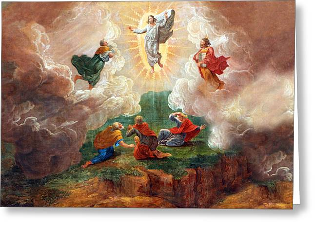 D. Nollet The Transfiguration Greeting Card