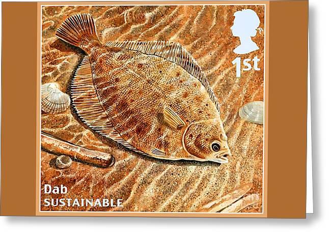 Dab Greeting Card