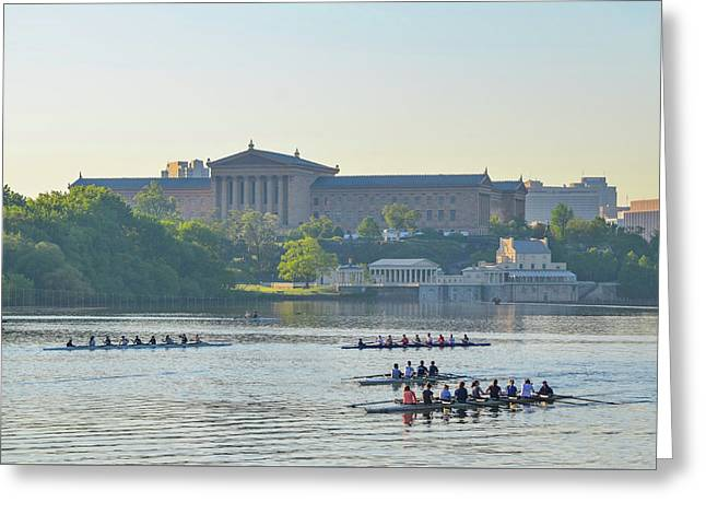 Dad Vail Regatta 2016 Greeting Card by Bill Cannon