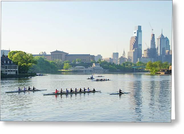 Dad Vail Regatta 2016 - Philadelphia Greeting Card