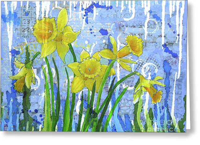 Daffodil Ding Dongs Greeting Card